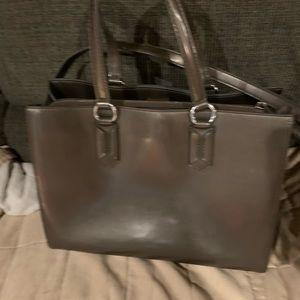 Ralph Lauren RRL Bags - Ralph Lauren RLL dark gray handbag